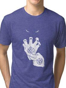 fullmetal alchemist brotherhood roy mustang anime manga shirt Tri-blend T-Shirt