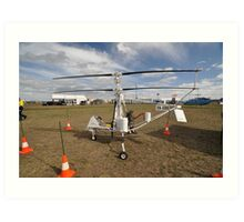 Helicopter VH-XRN,Avalon Airshow,Australia 2015 Art Print