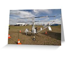 Helicopter VH-XRN,Avalon Airshow,Australia 2015 Greeting Card