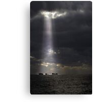 Let The Light Shine Down  Canvas Print