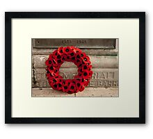 Wreath Framed Print