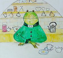 "frog ""Mr. Jeremy Fisher"" by Nataliya Stoyanova"