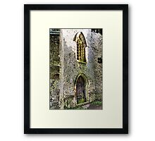 Window & Door Framed Print