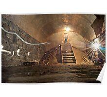 Underground Tunnel Poster