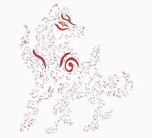 Okami Amaterasu - Cherry Blossom Form [WHITE] One Piece - Short Sleeve