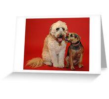 Millie & Abby Greeting Card