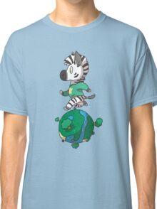 Zebra Crossing Classic T-Shirt
