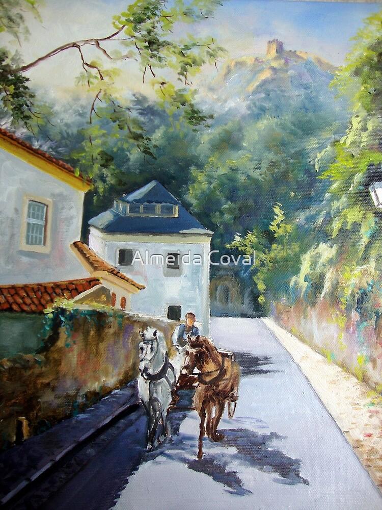 a caminho da regaleira.. by Almeida Coval