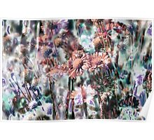Botanical Abstract in Pastel XI Poster