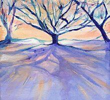 Winter Light by Genevieve  Cseh