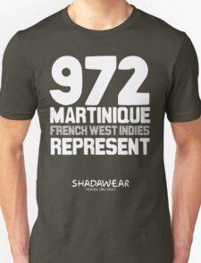 972 Martinique, FWI. Represent T-Shirt