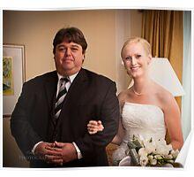 Wedding - Margaret and David Poster