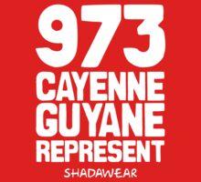 973 Cayenne, Guyane. Represent by kaysha