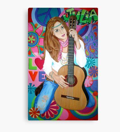Groovy Julia Canvas Print