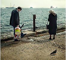 PigeonWalk Photographic Print