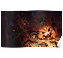 Gnar - League of Legends  Poster