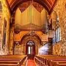 Culross Abbey Church by Lynne Morris