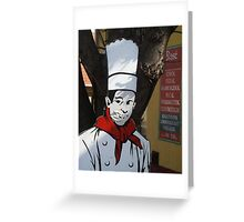 Cook Greeting Card