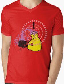 Korg Head Mens V-Neck T-Shirt