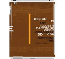 Too many skills you can do iPad Case/Skin