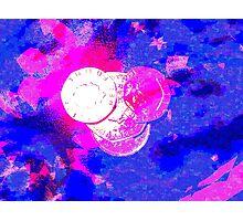 Facing Money Photographic Print