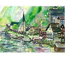 Austrian Village Photographic Print