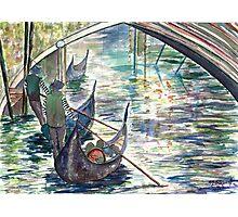 Venice Scene Photographic Print