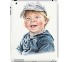 Little Boy Portrait iPad Case/Skin