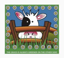 The grass is always greener... by Katseyes