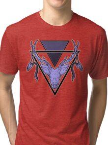 Triangle Deer Tri-blend T-Shirt