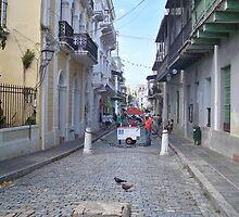 Old San Juan Street by lilyblu