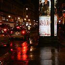 Night Walk in Paris by Virginia Kelser Jones