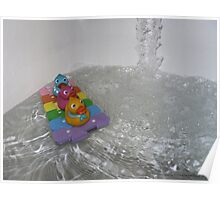 Duckie Water Fun Poster