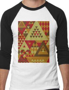 Triangulon - Rustic Men's Baseball ¾ T-Shirt