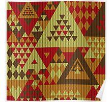 Triangulon - Rustic Poster