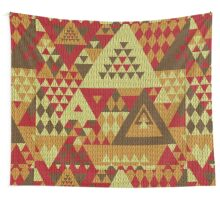 Triangulon - Rustic Wall Tapestry