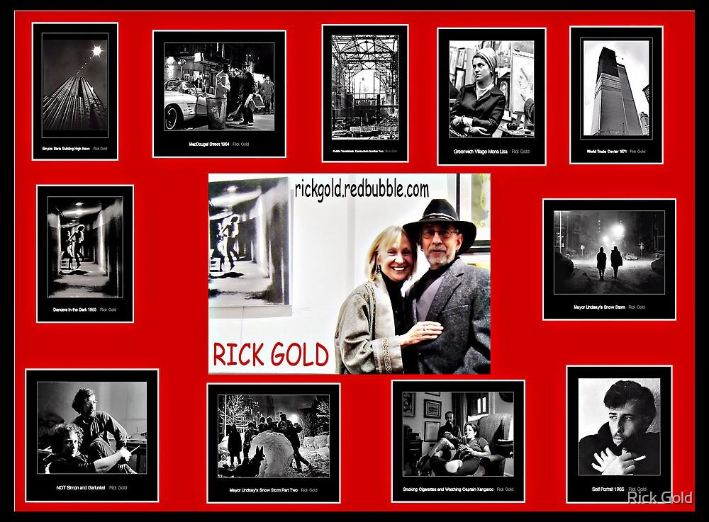 Shameless Self Promotion by Rick Gold