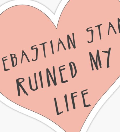 Sebastian Stan ruined my life Sticker