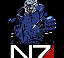 Mass Effect - Garrus N7  by emapremo