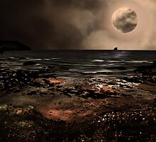 S is for.....Supermoon by Lissywitch