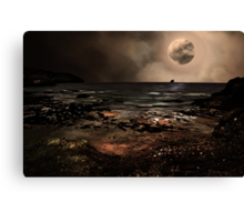 S is for.....Supermoon Canvas Print