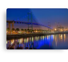 The Vincent Thomas Bridge Metal Print