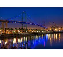 The Vincent Thomas Bridge Photographic Print