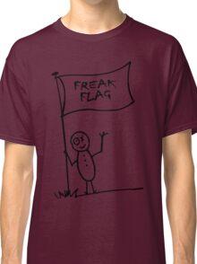 Freak flag geek funny nerd Classic T-Shirt