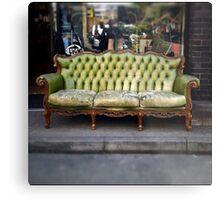 vintage sofa Metal Print