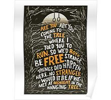Hunger Games - The Hanging Tree Song Katniss Poster