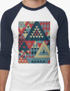 Triangulon - Pop Men's Baseball ¾ T-Shirt