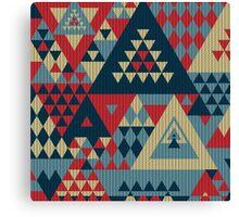 Triangulon - Pop Canvas Print