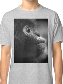 deep thought baby monkey Classic T-Shirt