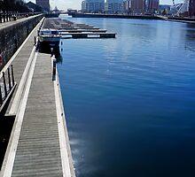 Liverpool Docks - Portrait by AndrewBerry